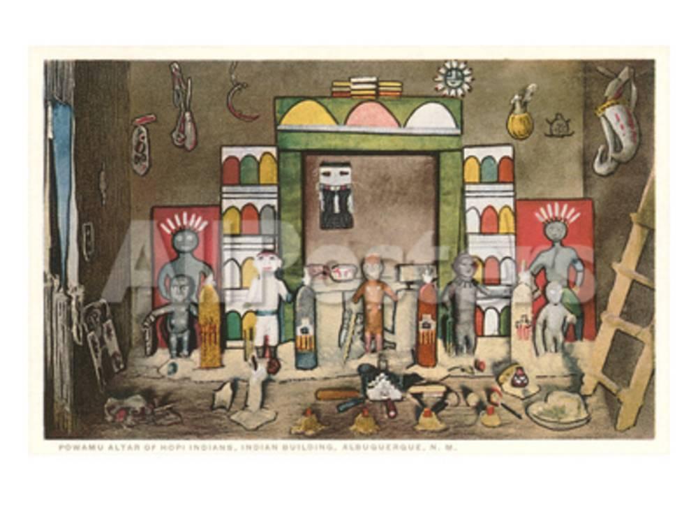 Hopi Powamu Altar, Albuquerque, New Mexico Prints at AllPosters.com