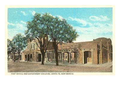Post Office and Government Building, Santa Fe, New Mexico