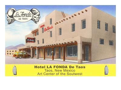 Hotel La Fonda in Taos, New Mexico