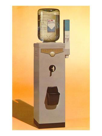 Bottled Water Cooler, Retro