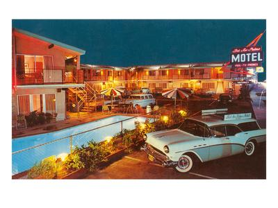 Bel Air Palms Motel, Retro