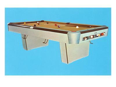 Pool Table, Retro
