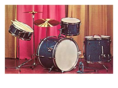 Drum Set, Retro