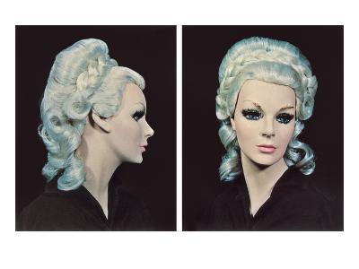 Mannequin with Platinum Wig