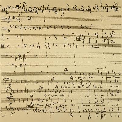 Mozart: Requiem Excerpt