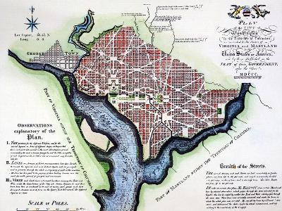 Washington, Dc, Plan, 1792