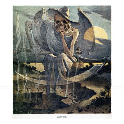 Panama Canal Cartoon, 1904