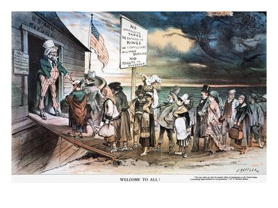 Pro-Immigration Cartoon