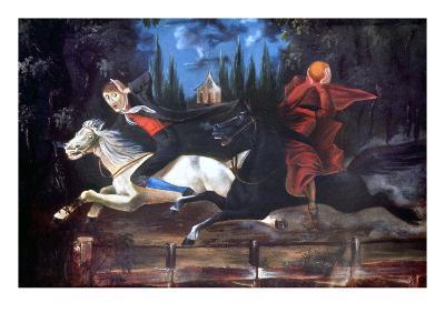 Crane And Horseman