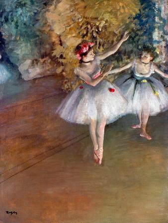 Degas: Dancers, C1877