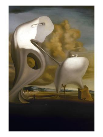 Dali: Angelus, 1933