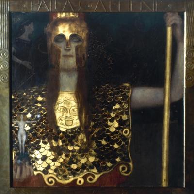 Klimt: Pallas Athena, 1898