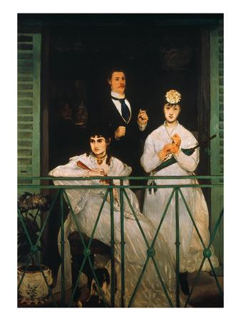 Manet: The Balcony, 1869
