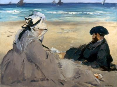 Manet: On The Beach, 1873
