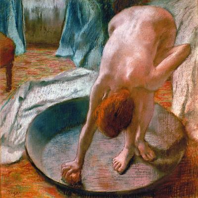 Edgar Degas: The Tub, 1886