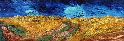 Van Gogh: Wheatfield, 1890