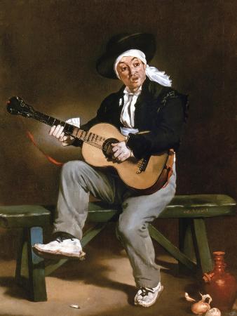 Manet: Guitarero