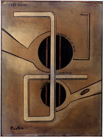 Picabia: C'Est Clair, C1917