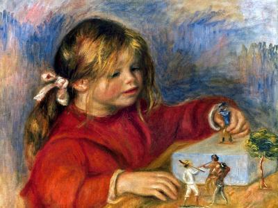 Renoir: Claude Playing