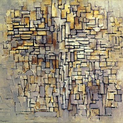 Mondrian: Composition, 1913