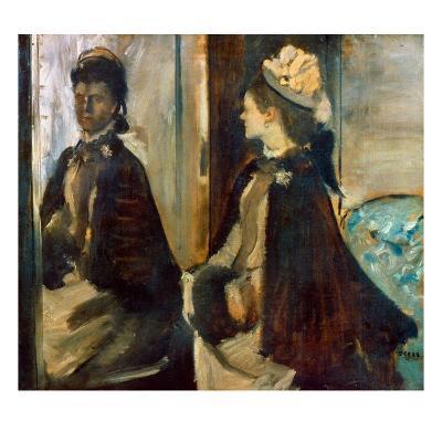 Degas: Mme Jeantaud, 1875
