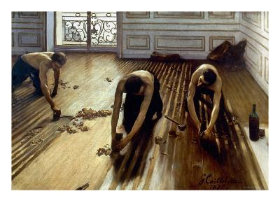 Caillebotte: Planers, 1875