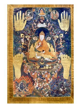 Thangka: Dalai Lama