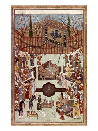 Persian Miniature, 1567