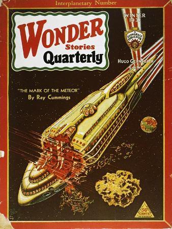 Sci-Fi Magazine Cover, 1931