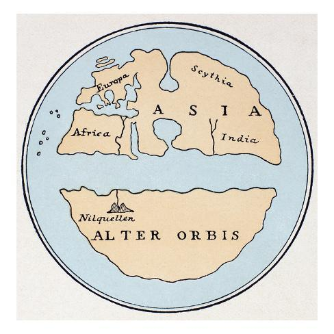 1st Century World Map.World Map 1st Century Giclee Print At Allposters Com