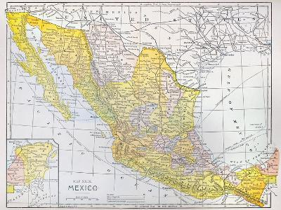 Map: Mexico