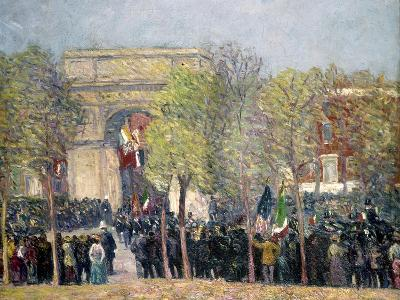 Washington Square, 1918