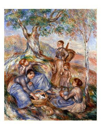 Renoir: Grape Pickers