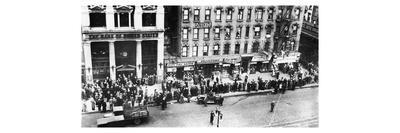 New York: Bank Run, 1930