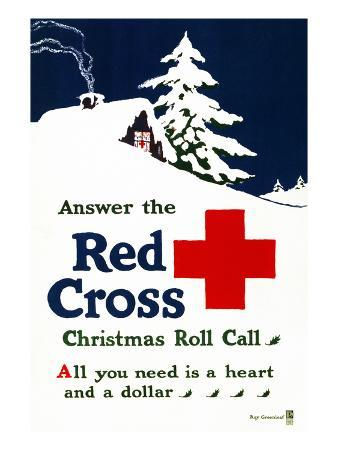 Red Cross Poster, C1915