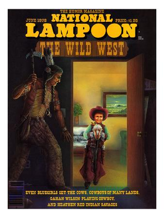National Lampoon, June 1978 - The Wild West