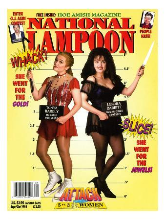 National Lampoon, September and October 1994 - Attack of the 5 ft 2 Women