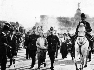 London: Suffragettes, 1914