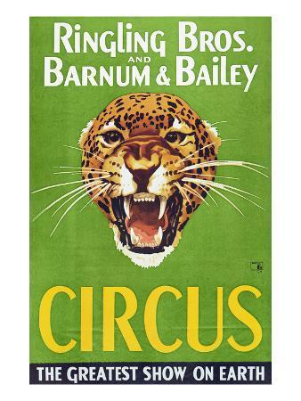 Circus Poster, 1940S