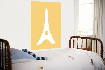 Yellow Eiffel Tower