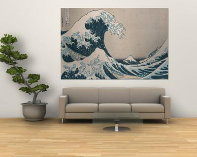 "The Great Wave Off Kanagawa, from the Series ""36 Views of Mt. Fuji"" (""Fugaku Sanjuokkei"")"