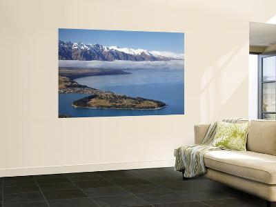 The Remarkables, Lake Wakatipu, and Queenstown, South Island, New Zealand