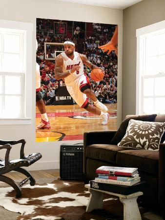 Phoenix Suns v Miami Heat: LeBron James