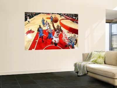Oklahoma City Thunder v Chicago Bulls: Keith Bogans, Nenad Krstic, Kevin Durant and Eric Maynor