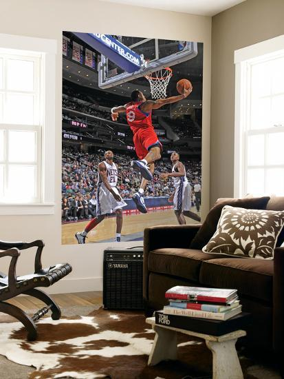 Philadelphia 76ers v New Jersey Nets  Andre Iguodala Art by David Dow at  AllPosters.com e5e9a4950