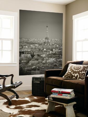 Eiffel Tower and Skyline of Paris, France
