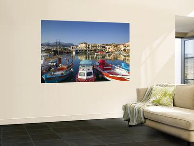 Venetian Harbour, Rethymno, Crete, Greece