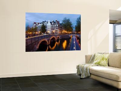 Holland, Amsterdam, Keizersgracht and Leidesegracht Canals