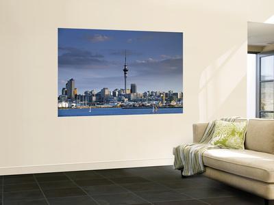 Skyline of Auckland, North Island, New Zealand