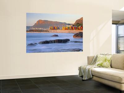 Panorama of Muizenburg, False Bay, Cape Town, South Africa